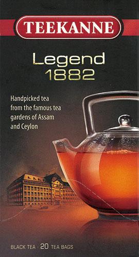 ティーカネン 紅茶 ゴールドシリーズ レジェンド1882