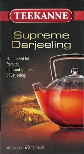 ティーカネン 紅茶 ゴールドシリーズ シュープリームダージリン